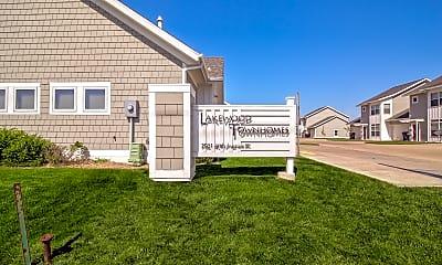 Community Signage, Lakewood Townhomes, 2