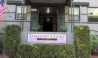 Forestry Court Apartments, 1