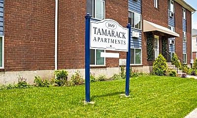 Community Signage, Tamarack Apartments, 2