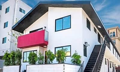 Building, 830 Bartlett St, 1