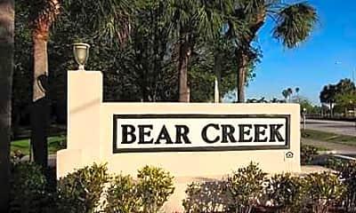 Community Signage, Bear Creek Apartments, 0