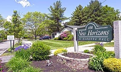 Community Signage, New Horizons, 2