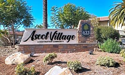 Community Signage, 633 Ascot Dr, 1
