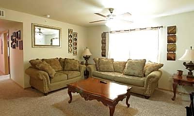 Living Room, Rock Creek Apartments, 1