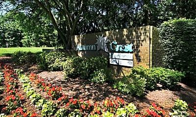 Community Signage, Autumn Crest, 2