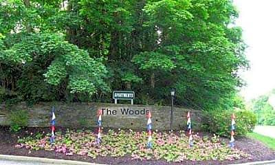 Community Signage, The Woods Of Oakbrook, 0