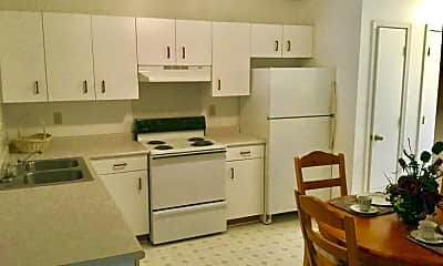 Kitchen, The Pines Apartments, 1