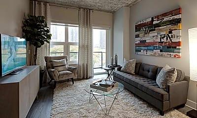 Living Room, 842 S Clark St, 1