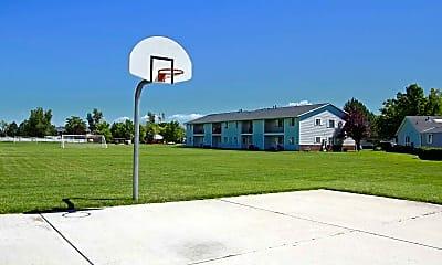 Basketball Court, Lexington Park, 1