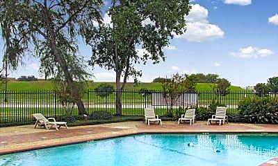 Pool, Heather Glen Townhomes, 1