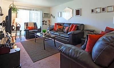 Living Room, Larpenteur Villa, 1