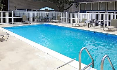 Pool, Woodland Towns Apartments, 0