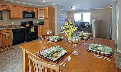 Dining Room, Bison Run, 1