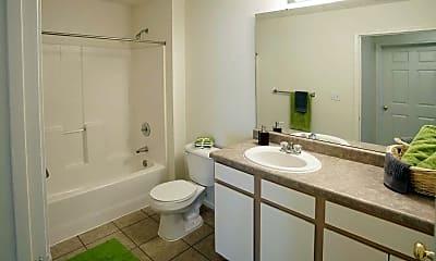 Bathroom, Lakewood Apartments, 2