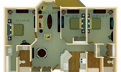 Dining Room, 3700 W St Germain St, 2