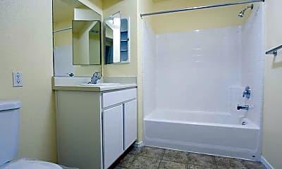 Bathroom, King Square Family Apartments, 2