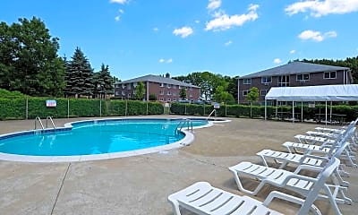 Pool, Meadow Lane Apartments, 0
