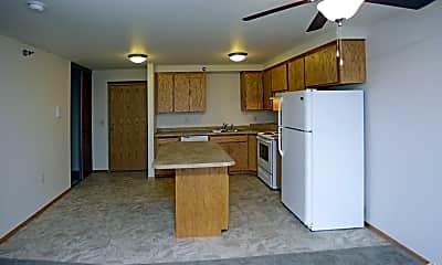 Kitchen, Desoto Apartments, 1
