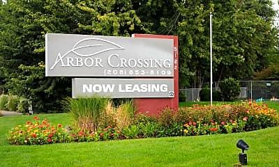 Community Signage, Arbor Crossing Apartments, 1