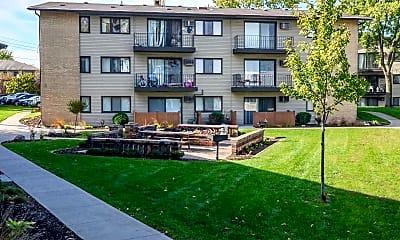 Building, Town Terrace Apartments, 1