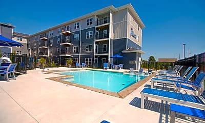 Pool, The Falcon Apartments, 2
