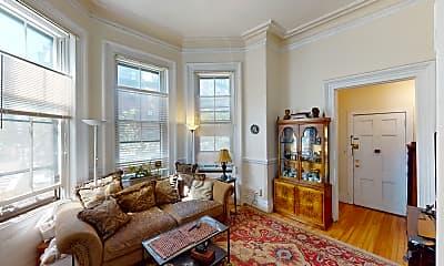 Living Room, 92 Marlborough St #3, 0