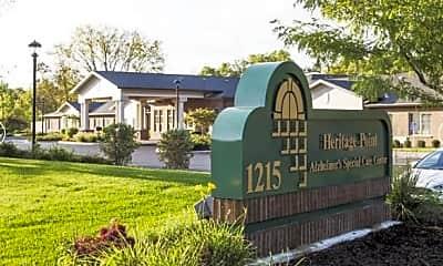 Community Signage, Heritage Point Senior Living, 0