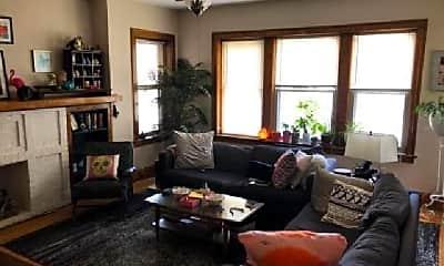 Living Room, 4344 N Albany Ave, 2