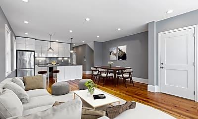 Living Room, 150 Huron Ave 150, 1