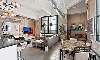 Living Room, 2929 Chicago Ave 1600, 1