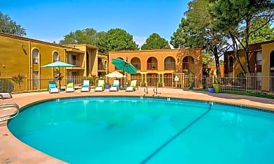 Pool, Casa Tierra Apartments, 0