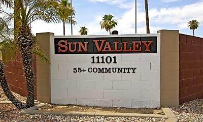 Community Signage, Sun Valley, 2