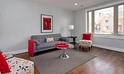 Living Room, 4000 8th St NE, 1