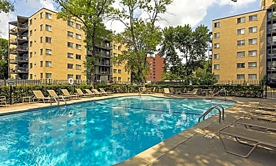 Pool, Park Towers, 2