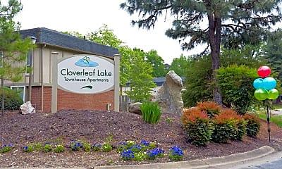 Community Signage, Cloverleaf Lake, 2