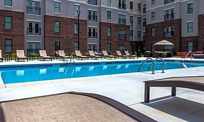 Pool, The Pad on Harvard Apartments, 0