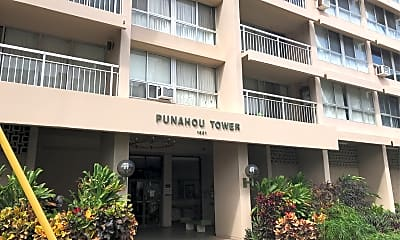 Punahou Tower, 1