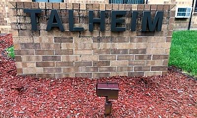 Talhelm Apartments, 1