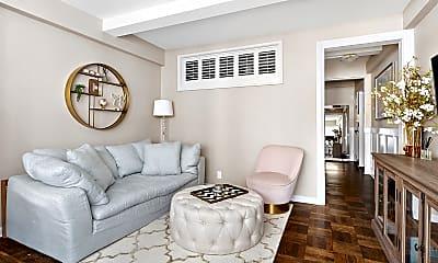 Living Room, 7 Lexington Ave 9-F, 1