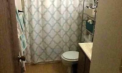 Bathroom, Greenfield Apartments, 2