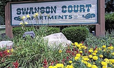 Community Signage, Swanson Court, 2