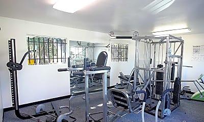 Fitness Weight Room, Amberwood, 1