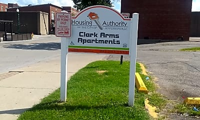Clark Arms Apartments, 1