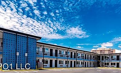Building, Millennium Flats, 2