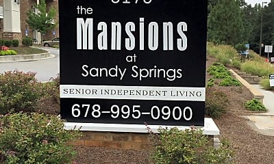 The Mansions at Sandy Springs, 1