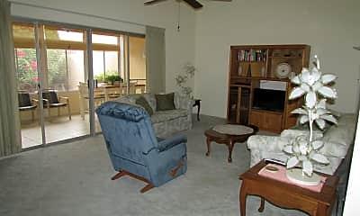 Living Room, 10880 W Emerald Dr, 1