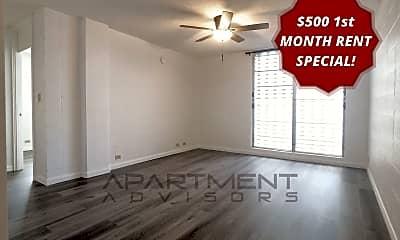 Living Room, 412 N Kuakini St, 1