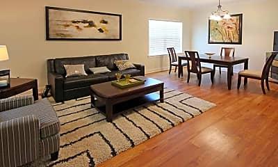 Living Room, Marina Vista Apartments, 1