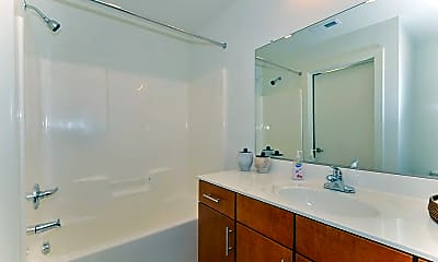 Bathroom, Edgeline Flats on Davidson, 2