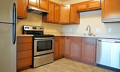 Kitchen, Parkside Townhomes, 1